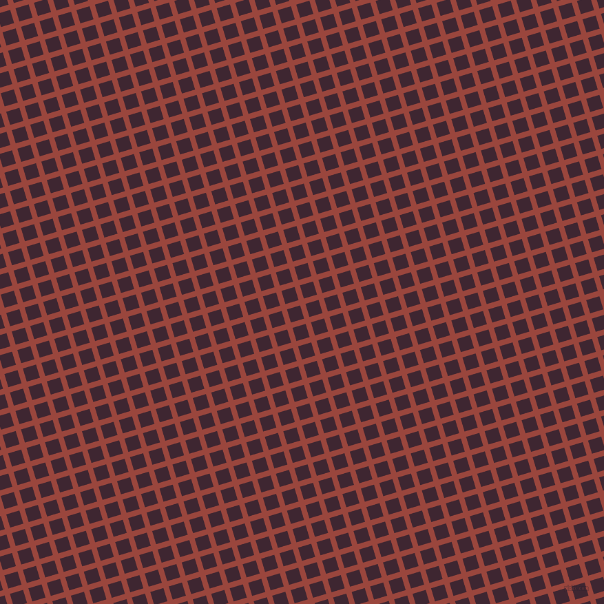 17/107 degree angle diagonal checkered chequered lines, 8 pixel lines width, 20 pixel square size, Cognac and Toledo plaid checkered seamless tileable