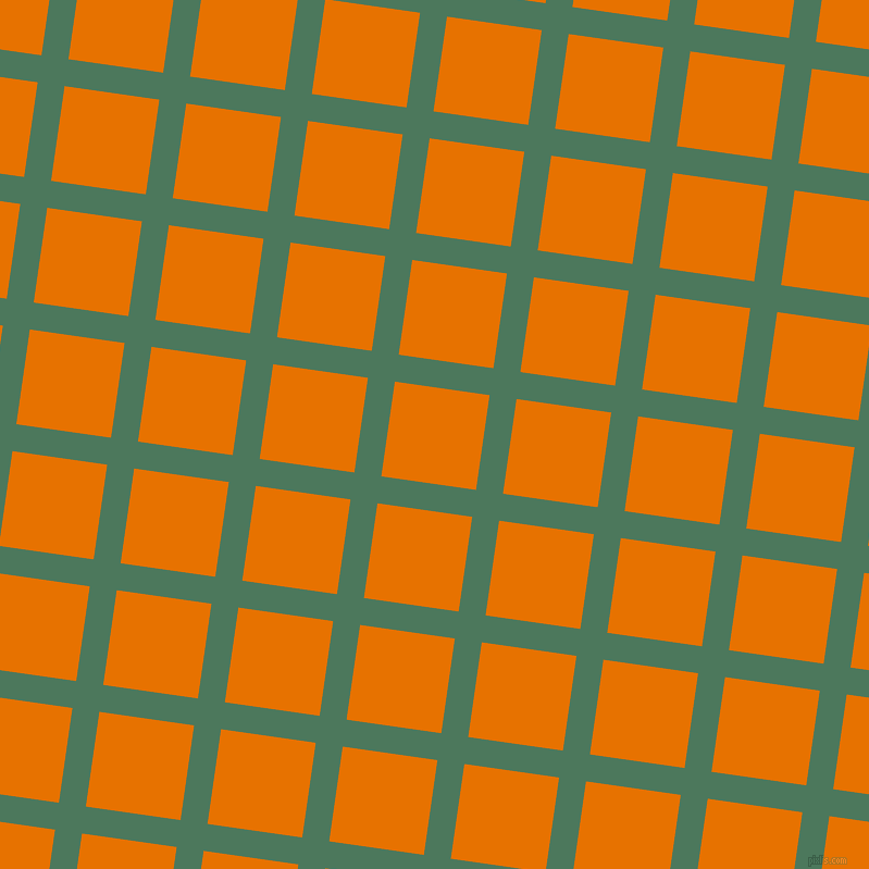 82/172 degree angle diagonal checkered chequered lines, 25 pixel line width, 88 pixel square size, Como and Mango Tango plaid checkered seamless tileable