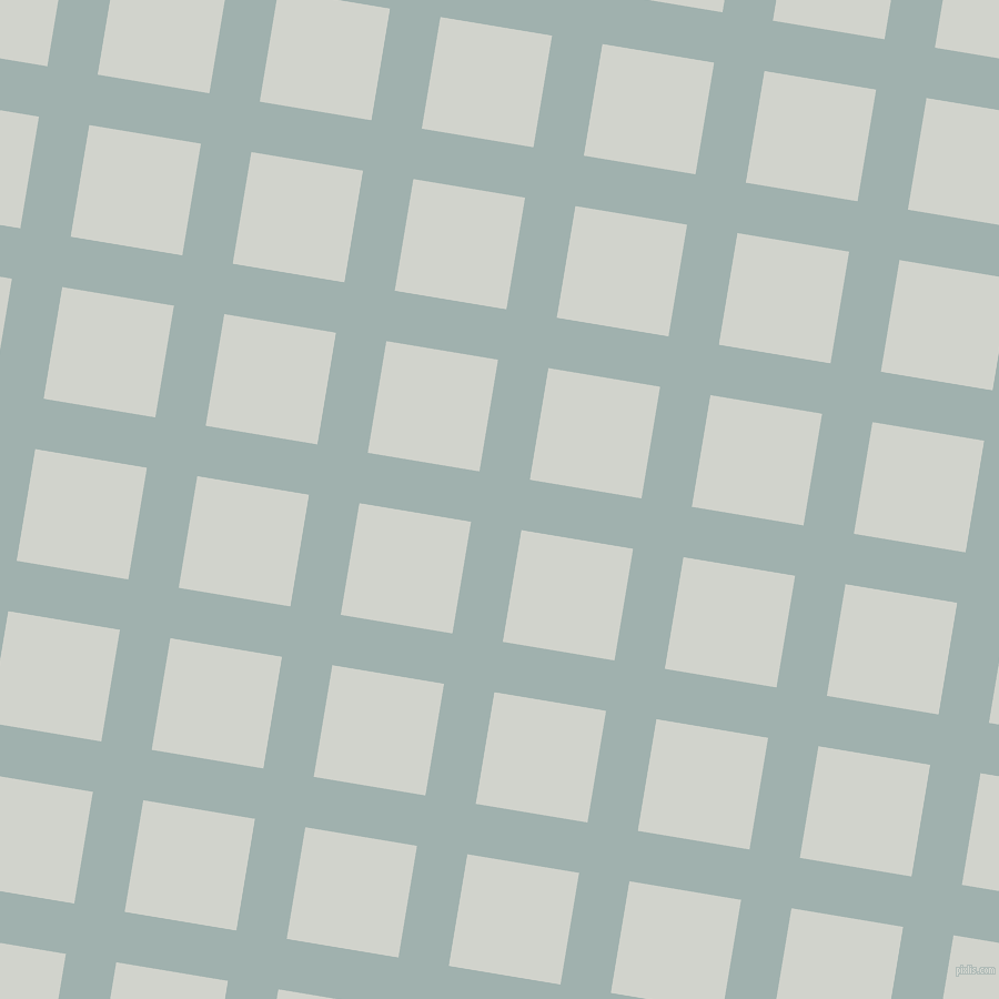 81/171 degree angle diagonal checkered chequered lines, 46 pixel lines width, 102 pixel square size, Conch and Grey Nurse plaid checkered seamless tileable