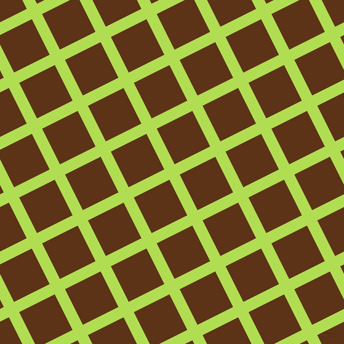 27/117 degree angle diagonal checkered chequered lines, 23 pixel line width, 80 pixel square size, Conifer and Baker