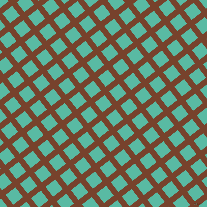 38/128 degree angle diagonal checkered chequered lines, 23 pixel lines width, 49 pixel square size, Copper Canyon and Puerto Rico plaid checkered seamless tileable