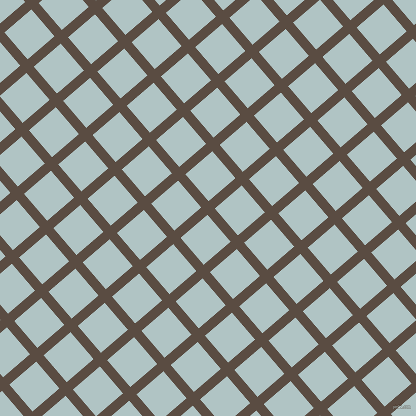 41/131 degree angle diagonal checkered chequered lines, 19 pixel lines width, 70 pixel square size, Cork and Jungle Mist plaid checkered seamless tileable