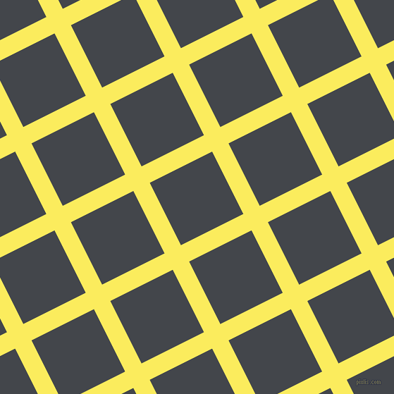 27/117 degree angle diagonal checkered chequered lines, 26 pixel lines width, 99 pixel square size, Corn and Steel Grey plaid checkered seamless tileable
