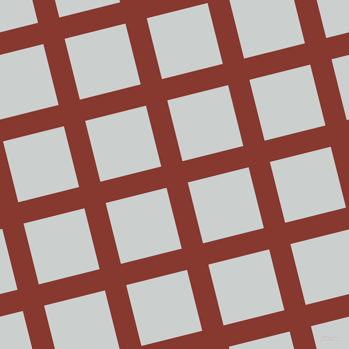 14/104 degree angle diagonal checkered chequered lines, 44 pixel line width, 126 pixel square size, Crab Apple and Geyser plaid checkered seamless tileable