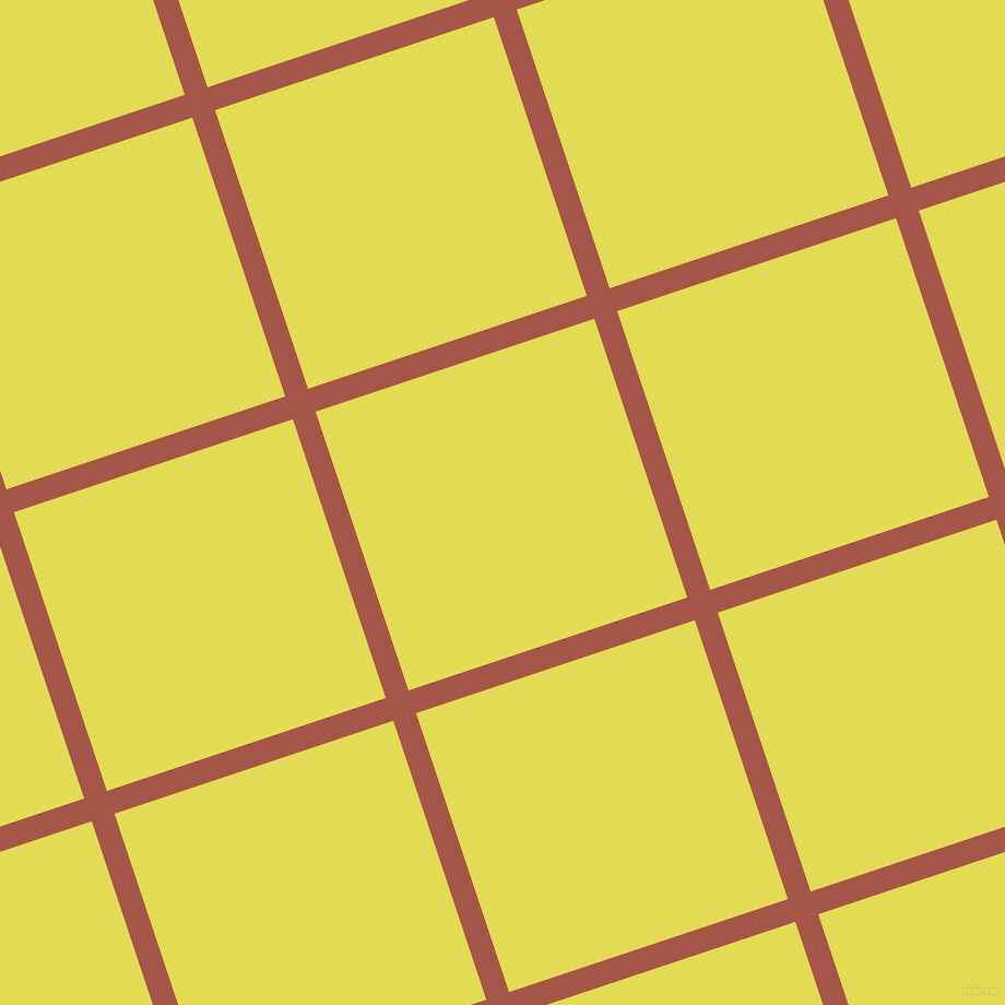 18/108 degree angle diagonal checkered chequered lines, 22 pixel line width, 269 pixel square size, Crail and Manz plaid checkered seamless tileable