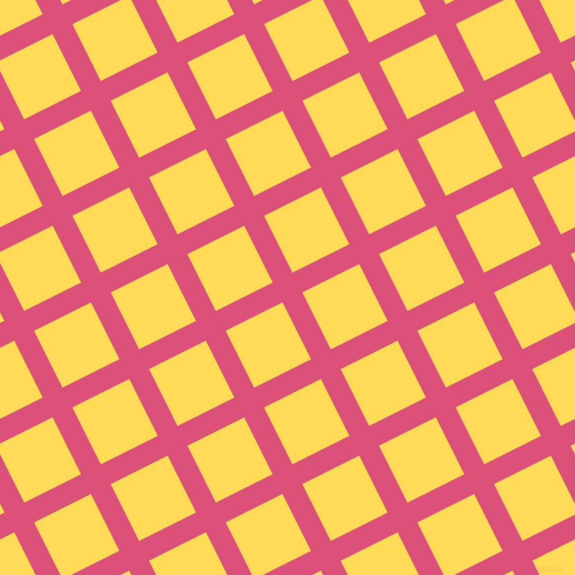 27/117 degree angle diagonal checkered chequered lines, 32 pixel lines width, 92 pixel square size, Cranberry and Mustard plaid checkered seamless tileable