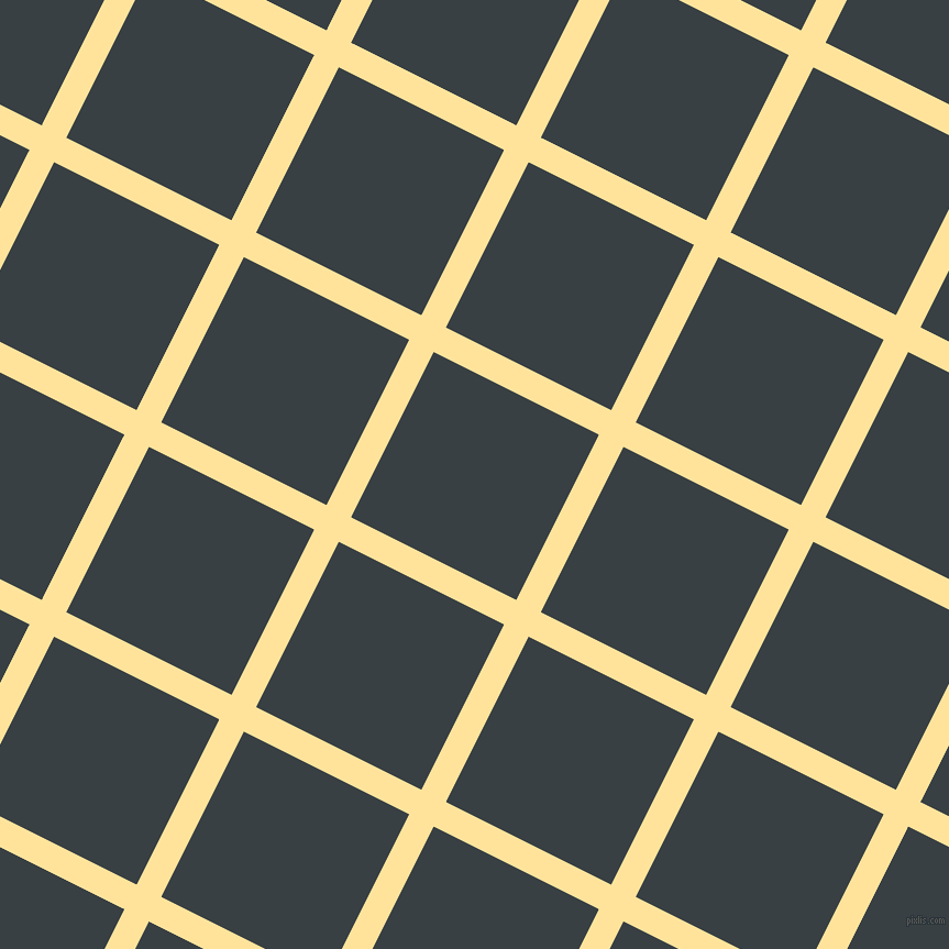 63/153 degree angle diagonal checkered chequered lines, 25 pixel lines width, 168 pixel square size, Cream Brulee and Charade plaid checkered seamless tileable