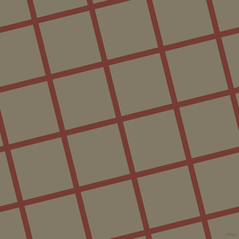 14/104 degree angle diagonal checkered chequered lines, 19 pixel lines width, 175 pixel square size, Crown Of Thorns and Arrowtown plaid checkered seamless tileable