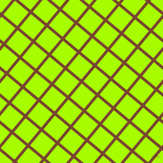 50/140 degree angle diagonal checkered chequered lines, 11 pixel lines width, 70 pixel square size, Cumin and Spring Bud plaid checkered seamless tileable