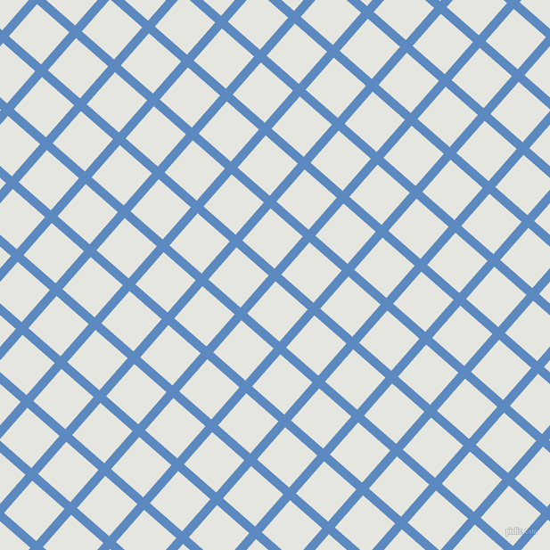 49/139 degree angle diagonal checkered chequered lines, 10 pixel lines width, 48 pixel square size, Danube and Black Squeeze plaid checkered seamless tileable