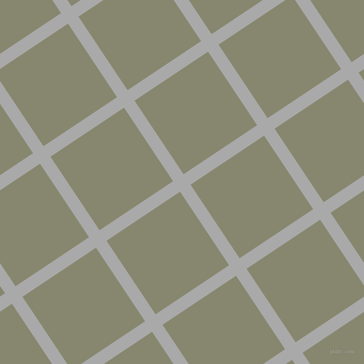 34/124 degree angle diagonal checkered chequered lines, 18 pixel lines width, 126 pixel square size, Dark Gray and Schist plaid checkered seamless tileable