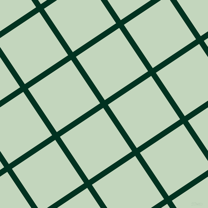 34/124 degree angle diagonal checkered chequered lines, 18 pixel line width, 168 pixel square size, Dark Green and Surf Crest plaid checkered seamless tileable