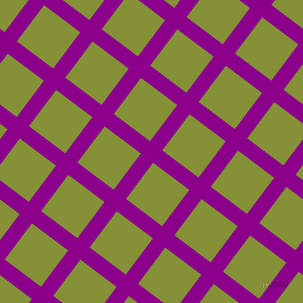 53/143 degree angle diagonal checkered chequered lines, 22 pixel lines width, 65 pixel square size, Dark Magenta and Wasabi plaid checkered seamless tileable
