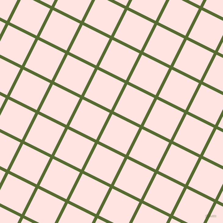 63/153 degree angle diagonal checkered chequered lines, 10 pixel lines width, 99 pixel square size, Dark Olive Green and Misty Rose plaid checkered seamless tileable