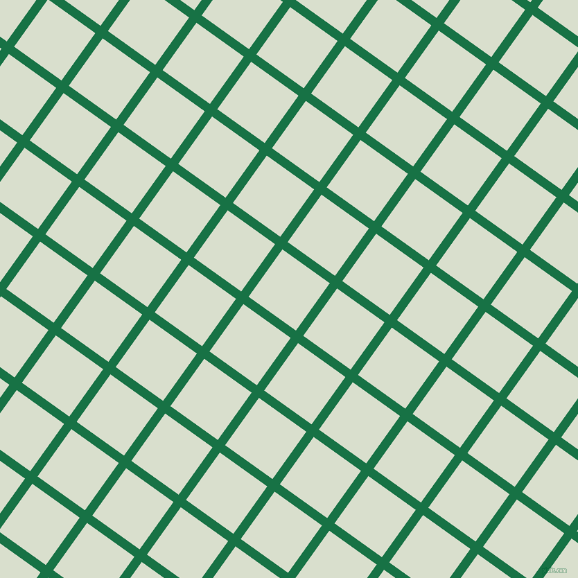 54/144 degree angle diagonal checkered chequered lines, 13 pixel line width, 84 pixel square size, Dark Spring Green and Gin plaid checkered seamless tileable