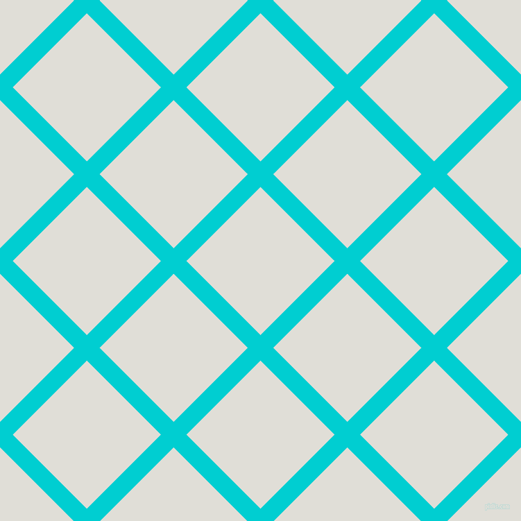 45/135 degree angle diagonal checkered chequered lines, 26 pixel lines width, 151 pixel square size, Dark Turquoise and Black Haze plaid checkered seamless tileable