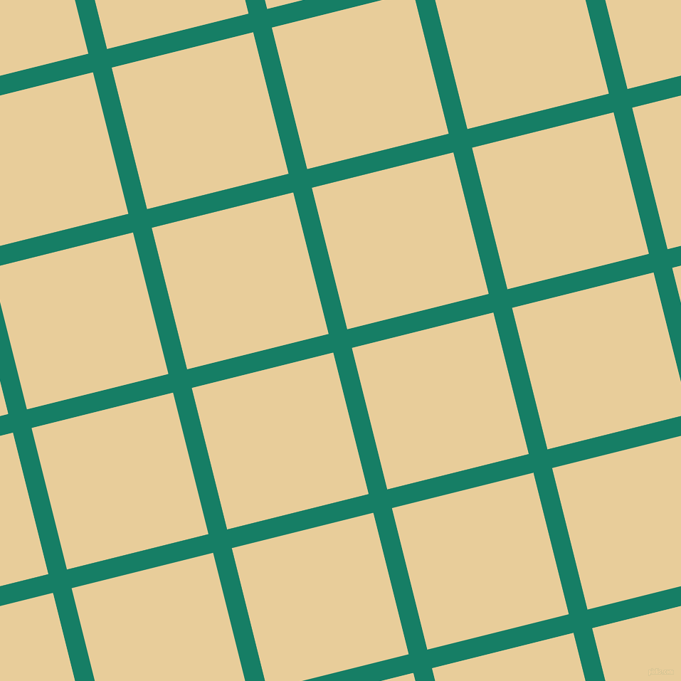 14/104 degree angle diagonal checkered chequered lines, 27 pixel lines width, 205 pixel square size, Deep Sea and Chamois plaid checkered seamless tileable