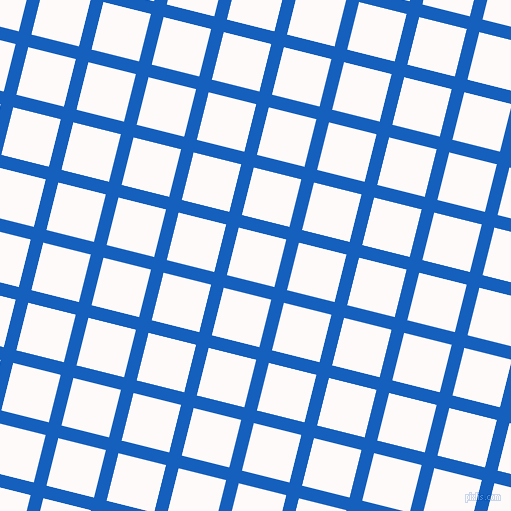 76/166 degree angle diagonal checkered chequered lines, 13 pixel line width, 49 pixel square size, Denim and Snow plaid checkered seamless tileable
