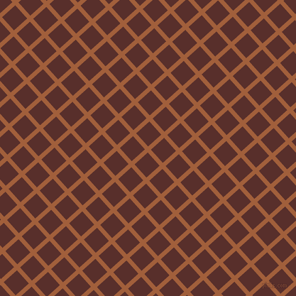 42/132 degree angle diagonal checkered chequered lines, 6 pixel line width, 25 pixel square size, Desert and Moccaccino plaid checkered seamless tileable