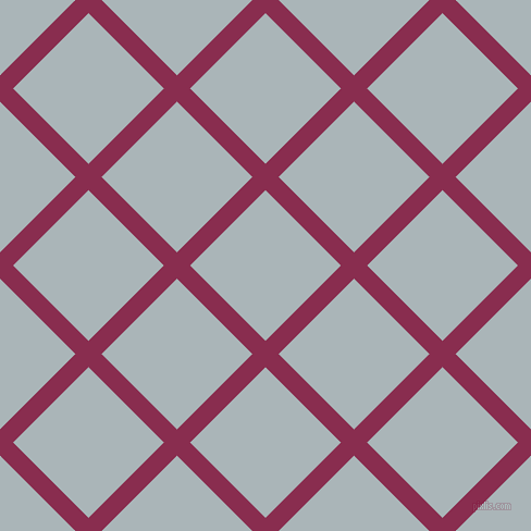 45/135 degree angle diagonal checkered chequered lines, 17 pixel lines width, 98 pixel square size, Disco and Casper plaid checkered seamless tileable