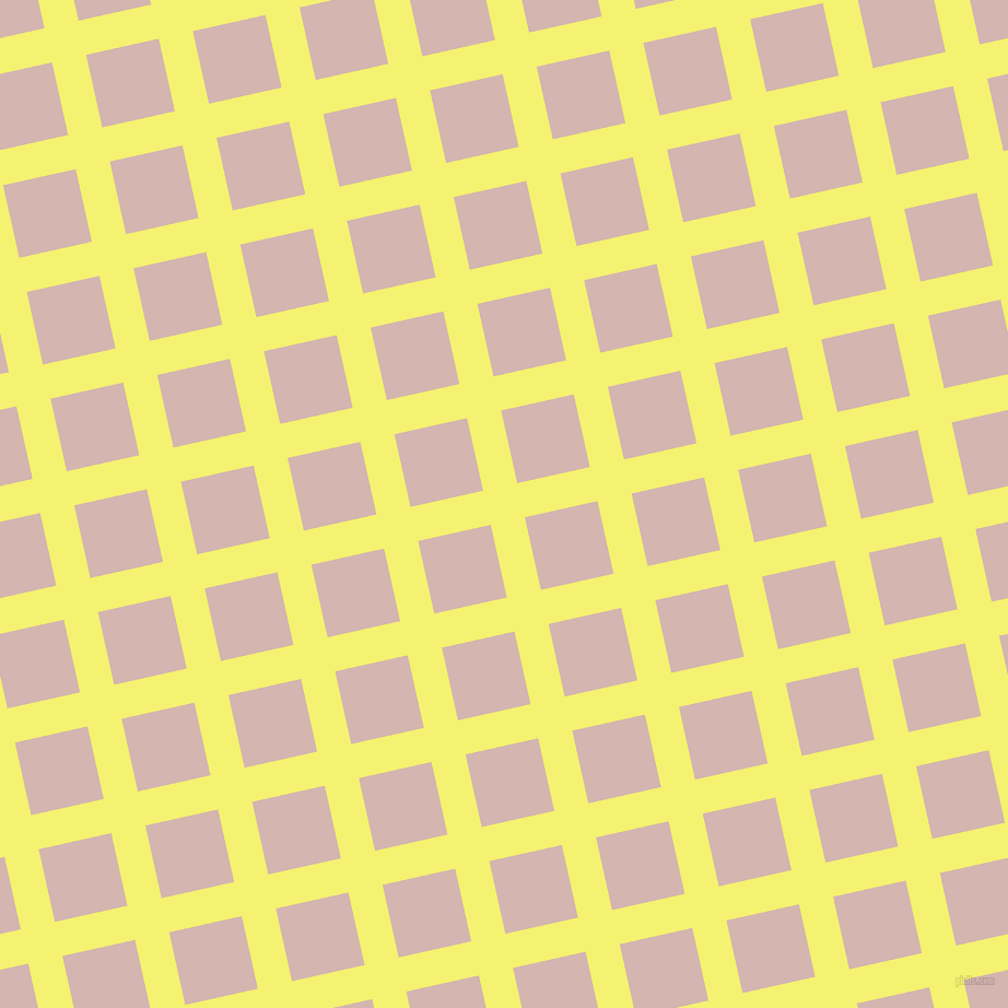 13/103 degree angle diagonal checkered chequered lines, 32 pixel line width, 68 pixel square size, Dolly and Oyster Pink plaid checkered seamless tileable