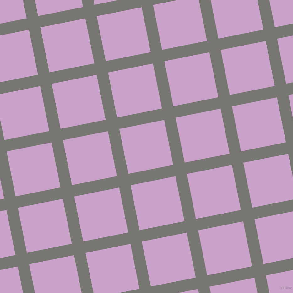 11/101 degree angle diagonal checkered chequered lines, 37 pixel lines width, 146 pixel square size, Dove Grey and Lilac plaid checkered seamless tileable