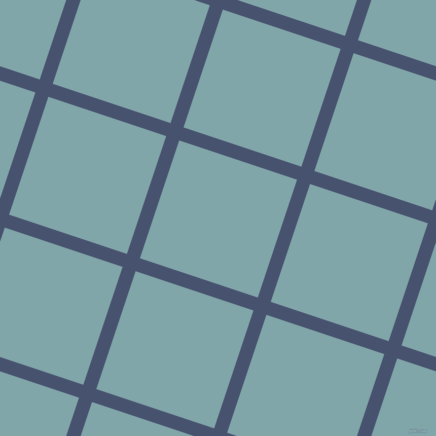 72/162 degree angle diagonal checkered chequered lines, 27 pixel lines width, 245 pixel square size, East Bay and Ziggurat plaid checkered seamless tileable