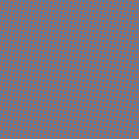 79/169 degree angle diagonal checkered chequered lines, 3 pixel lines width, 10 pixel square size, Ecstasy and Steel Blue plaid checkered seamless tileable