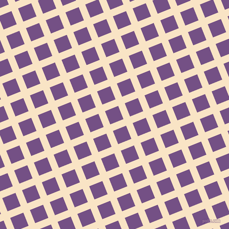 22/112 degree angle diagonal checkered chequered lines, 14 pixel lines width, 28 pixel square size, Egg Sour and Affair plaid checkered seamless tileable
