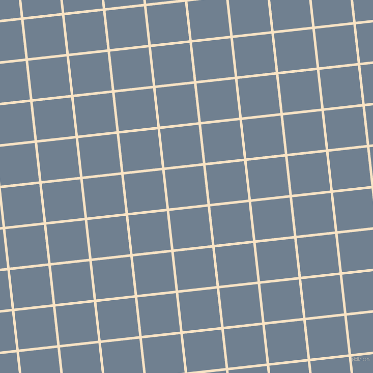 6/96 degree angle diagonal checkered chequered lines, 5 pixel lines width, 76 pixel square size, Egg Sour and Slate Grey plaid checkered seamless tileable