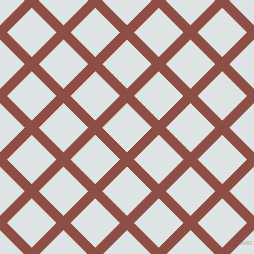 45/135 degree angle diagonal checkered chequered lines, 20 pixel line width, 70 pixel square size, El Salva and Zircon plaid checkered seamless tileable