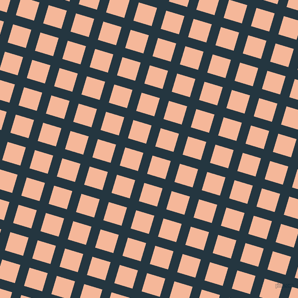 73/163 degree angle diagonal checkered chequered lines, 19 pixel lines width, 38 pixel square size, Elephant and Mandys Pink plaid checkered seamless tileable
