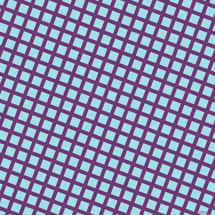 69/159 degree angle diagonal checkered chequered lines, 13 pixel lines width, 30 pixel square size, Eminence and Charlotte plaid checkered seamless tileable
