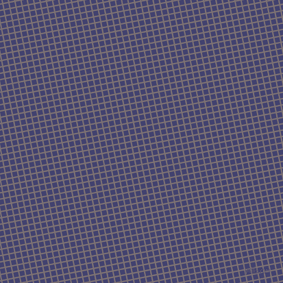 11/101 degree angle diagonal checkered chequered lines, 2 pixel lines width, 7 pixel square size, Empress and Corn Flower Blue plaid checkered seamless tileable