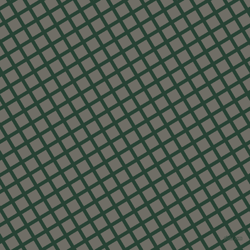 31/121 degree angle diagonal checkered chequered lines, 7 pixel lines width, 21 pixel square size, English Holly and Ironside Grey plaid checkered seamless tileable