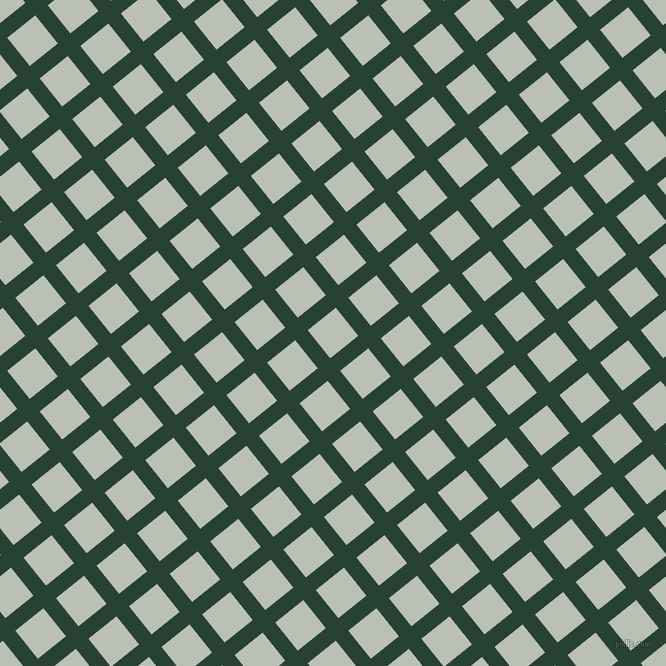 39/129 degree angle diagonal checkered chequered lines, 16 pixel line width, 36 pixel square size, English Holly and Tasman plaid checkered seamless tileable