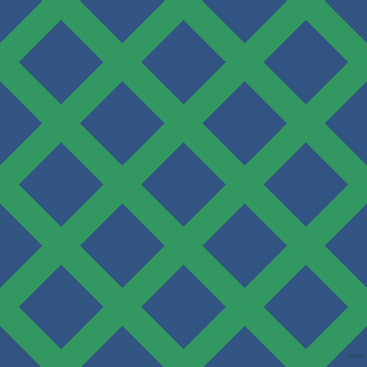 45/135 degree angle diagonal checkered chequered lines, 55 pixel lines width, 123 pixel square size, Eucalyptus and St Tropaz plaid checkered seamless tileable