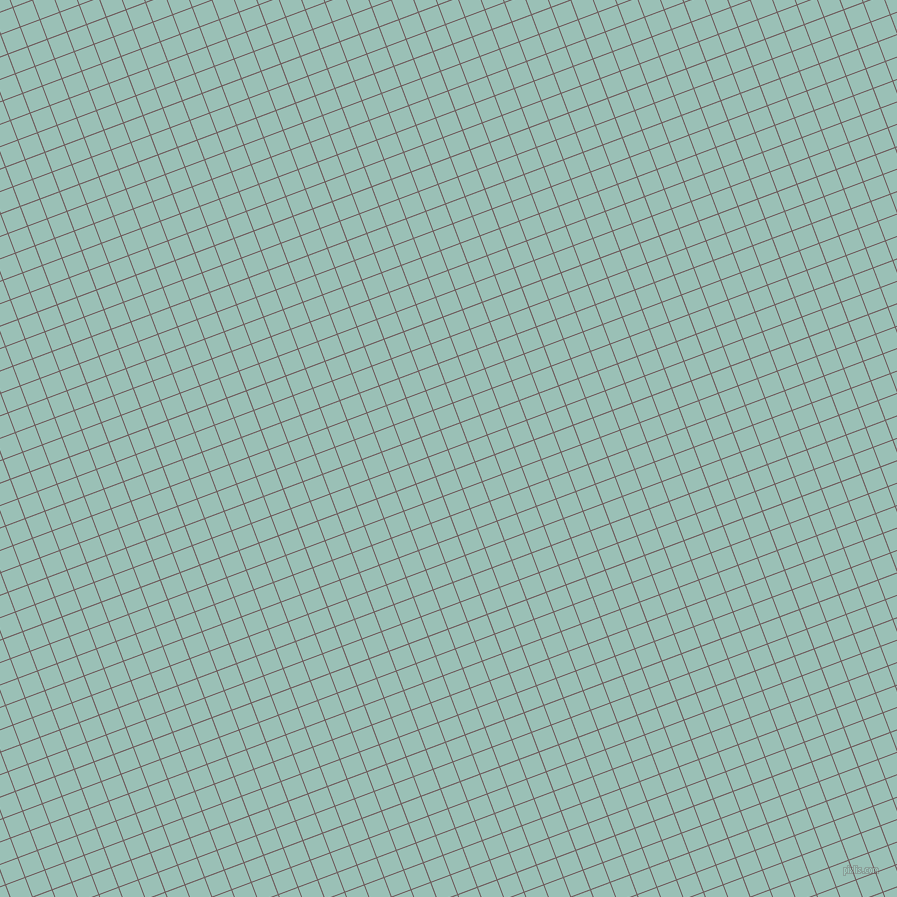 21/111 degree angle diagonal checkered chequered lines, 1 pixel lines width, 20 pixel square size, Falcon and Shadow Green plaid checkered seamless tileable