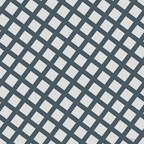 53/143 degree angle diagonal checkered chequered lines, 15 pixel lines width, 32 pixel square size, Fiord and Athens Grey plaid checkered seamless tileable