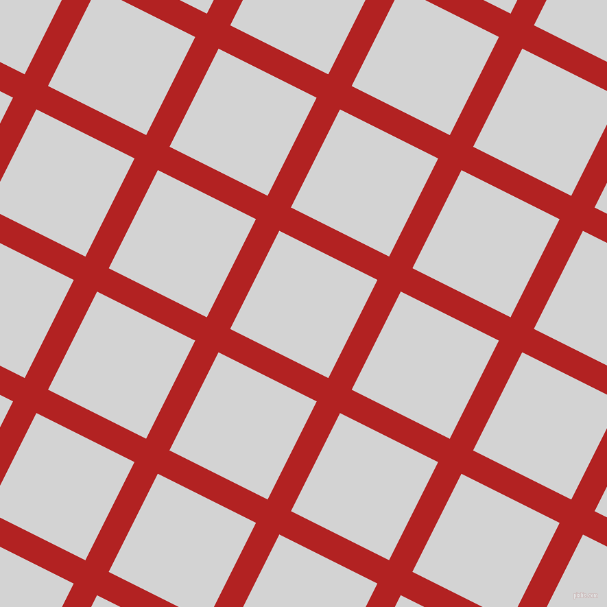 63/153 degree angle diagonal checkered chequered lines, 38 pixel line width, 160 pixel square size, Fire Brick and Light Grey plaid checkered seamless tileable