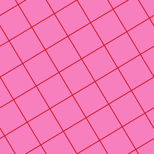 31/121 degree angle diagonal checkered chequered lines, 3 pixel lines width, 88 pixel square size, Fire Engine Red and Persian Pink plaid checkered seamless tileable