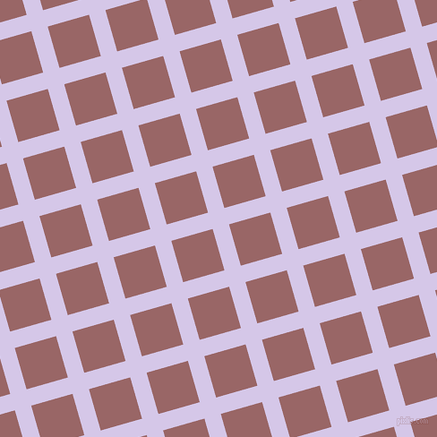 16/106 degree angle diagonal checkered chequered lines, 19 pixel line width, 48 pixel square size, Fog and Copper Rose plaid checkered seamless tileable