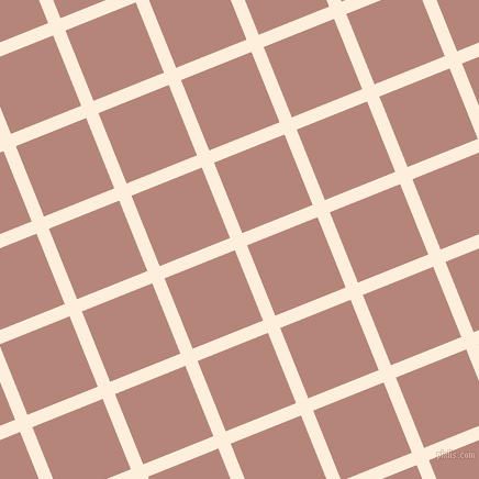 22/112 degree angle diagonal checkered chequered lines, 12 pixel lines width, 69 pixel square size, Forget Me Not and Brandy Rose plaid checkered seamless tileable
