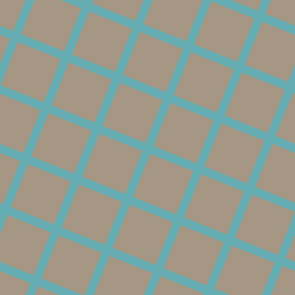 68/158 degree angle diagonal checkered chequered lines, 17 pixel line width, 93 pixel square size, Fountain Blue and Malta plaid checkered seamless tileable