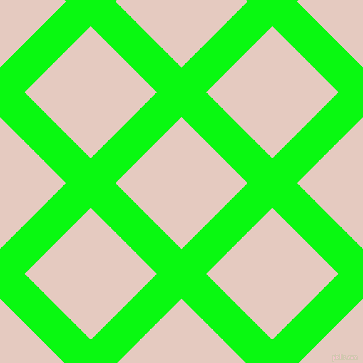 45/135 degree angle diagonal checkered chequered lines, 49 pixel lines width, 131 pixel square size, Free Speech Green and Dust Storm plaid checkered seamless tileable