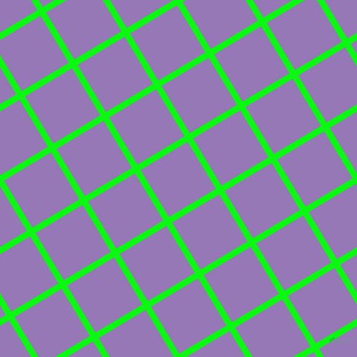 31/121 degree angle diagonal checkered chequered lines, 9 pixel line width, 78 pixel square size, Free Speech Green and Purple Mountain
