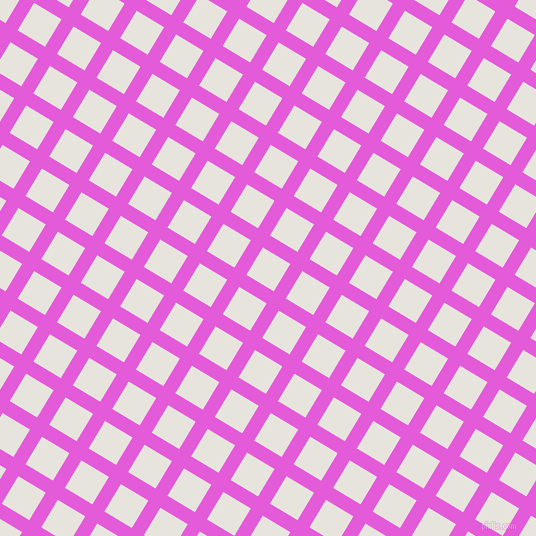 59/149 degree angle diagonal checkered chequered lines, 14 pixel lines width, 32 pixel square size, Free Speech Magenta and Wild Sand plaid checkered seamless tileable