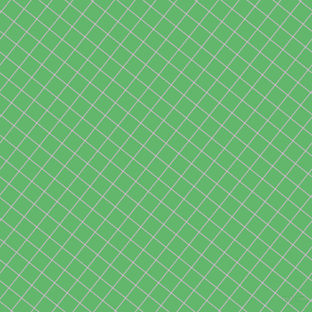 51/141 degree angle diagonal checkered chequered lines, 1 pixel lines width, 22 pixel square size, French Lilac and Fern plaid checkered seamless tileable