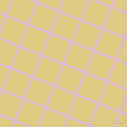68/158 degree angle diagonal checkered chequered lines, 7 pixel line width, 74 pixel square size, French Lilac and Sandwisp plaid checkered seamless tileable