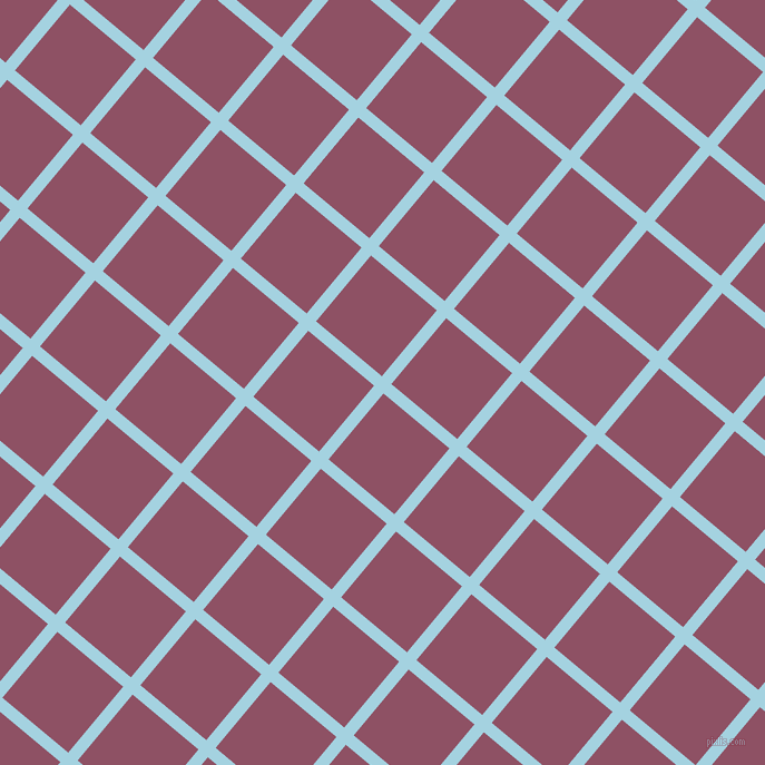 50/140 degree angle diagonal checkered chequered lines, 11 pixel lines width, 77 pixel square size, French Pass and Cannon Pink plaid checkered seamless tileable